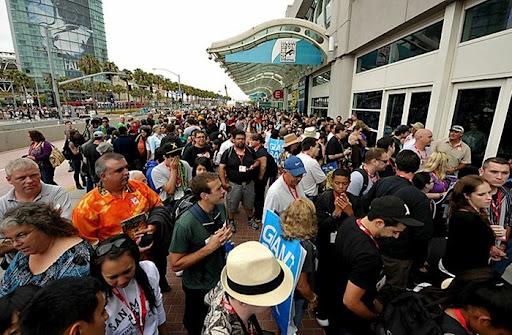 Fan Comics Fans of San Diego Comic-con