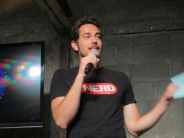 Zachary Levi of Nerd HQ