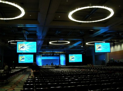 Ballroom 20 after the previews by Kikishua, on Flickr