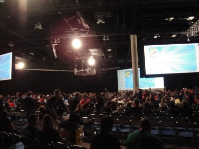 Comic-Con 2010 - a view of the Hall H crowd from the back by Pop Culture Geek, on Flickr