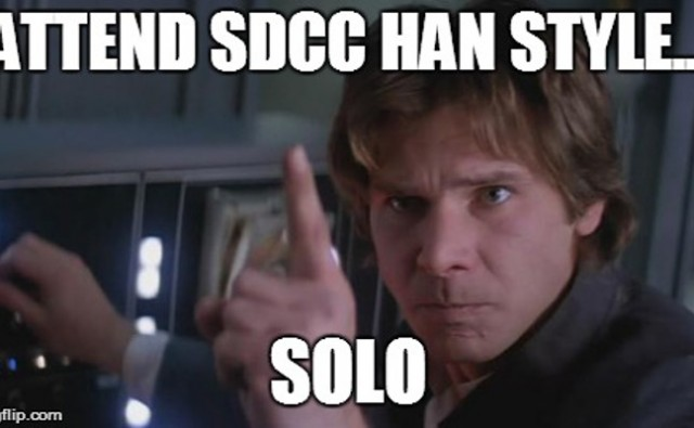 A Guide to Attending SDCC Solo