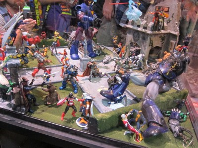 Hasbro Marvel Toy Display SDCC 2011