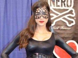 Vamp cosplay