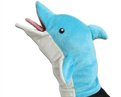 Archer - Pams Dolphin Puppet - Convention Exclusive SDCC