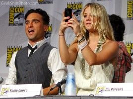 Kaley cuoco Johnny galecki the big bang theory