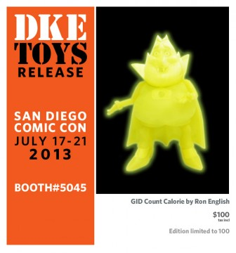 SDCC GID Count Calorie by Ron English