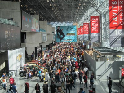 The Lobby at Javits Center, NYCC