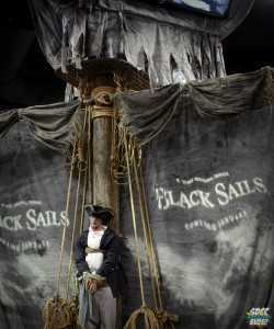 Starz Black Sails Booth sales floor 2013