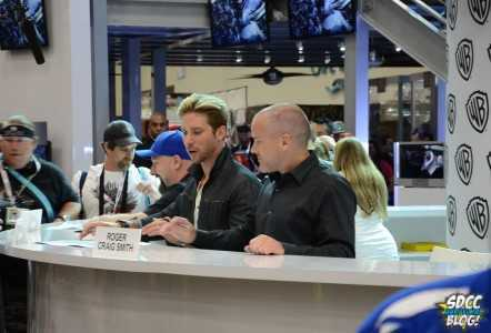 Batman Arkham Origins Signing WB Booth Troy Baker Roger Craig Smith