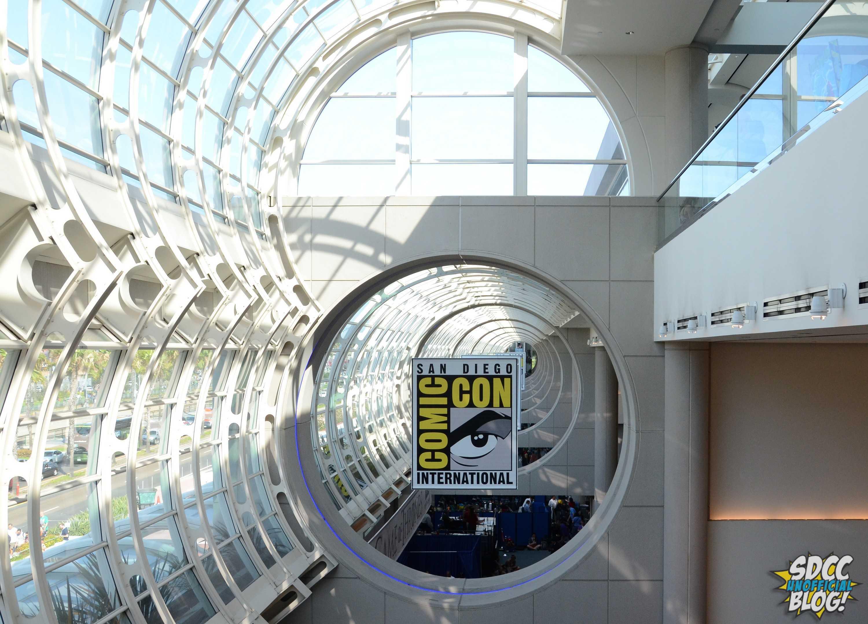 Comic Con Sign Convention Center