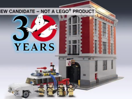 Ghostbusters 30th LEGO CUUSOO 2014