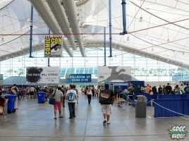Sails Pavilion Floor and Crowd shot sdcc 2013