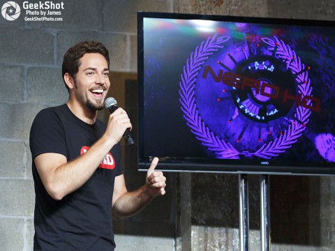 2012 Nerd HQ - Zachary Levi