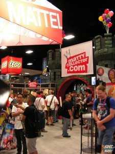 Mattel Matty Collector Booth sdcc 2012 Exhibit Sales Floor