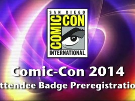 sdcc 2014 Badge PreRegistration Video