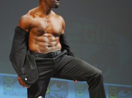 Terry Crews Expendables shirtless Hall H