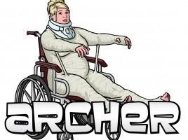 'Archer' Pam Poovey's Cocaine Infused Body Cast SDCC 2014 Exclusive