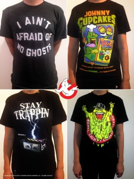 Ghostbusters 30th Anniversary Tees - Gallery1988