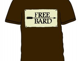 free bard wondercon torn shirt