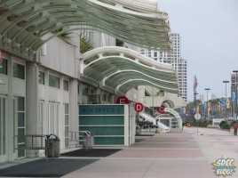 san diego convention center halls outside