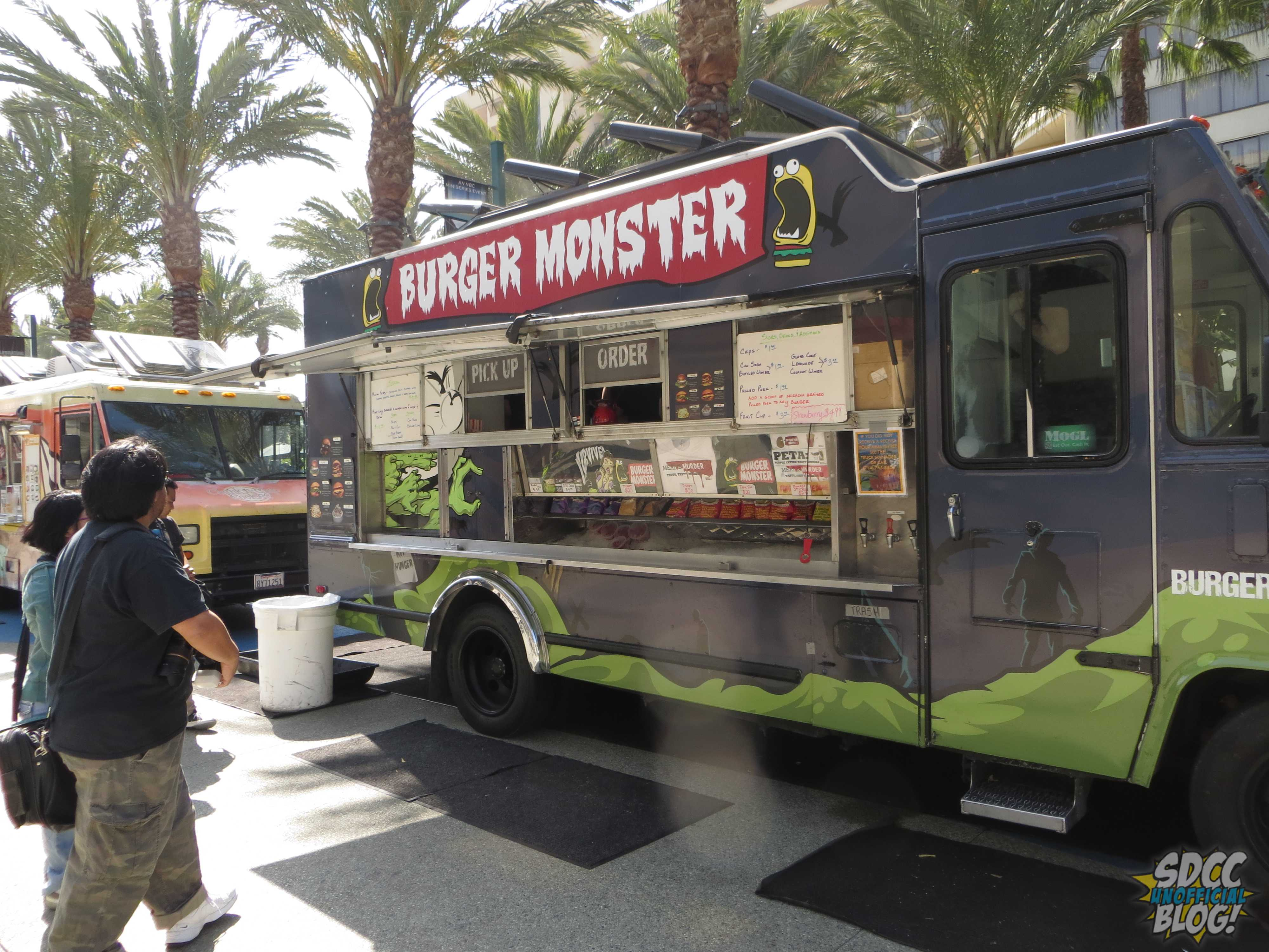 WonderCon 2014 Talking Food Trucks With Burger Monster