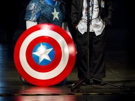 GeekShot Exclusive Series Week 6 - cosplay Captain America Kid Coulson Wondercon