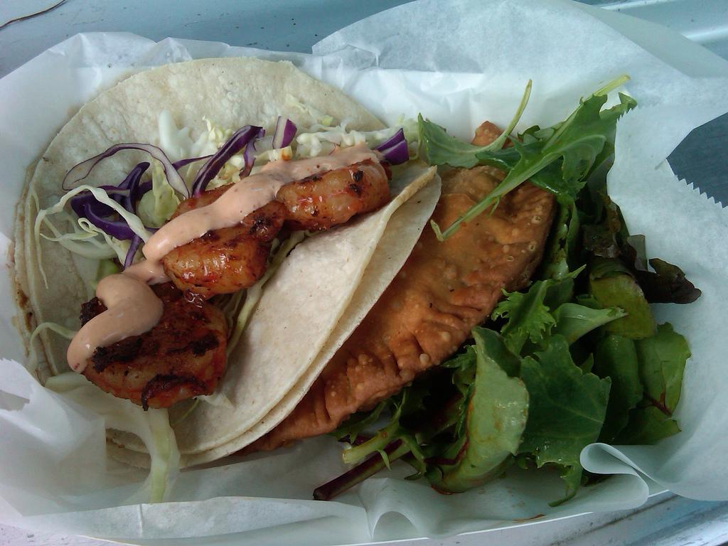 Shrimp tacos (from flickr)