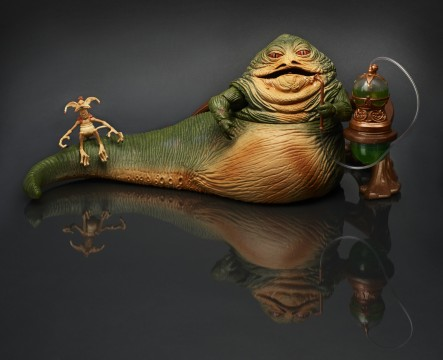 Our first Hasbro exclusive is this Jabba the Hutt Black Series figure.