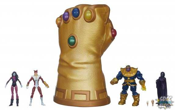 Infinity Gauntlet with Figures