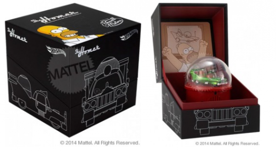 Hot Wheels® The Homer - MattyCollector SDCC 2014 Exclusive