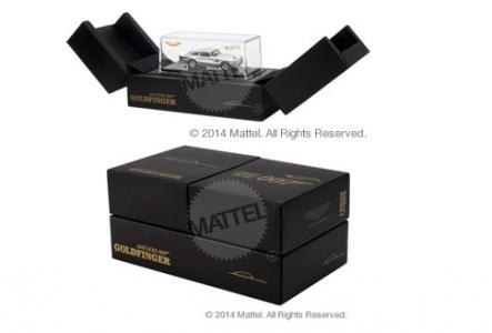 Hot Wheels® Aston Martin DB5  - MattyCollector SDCC 2014 Exclusive