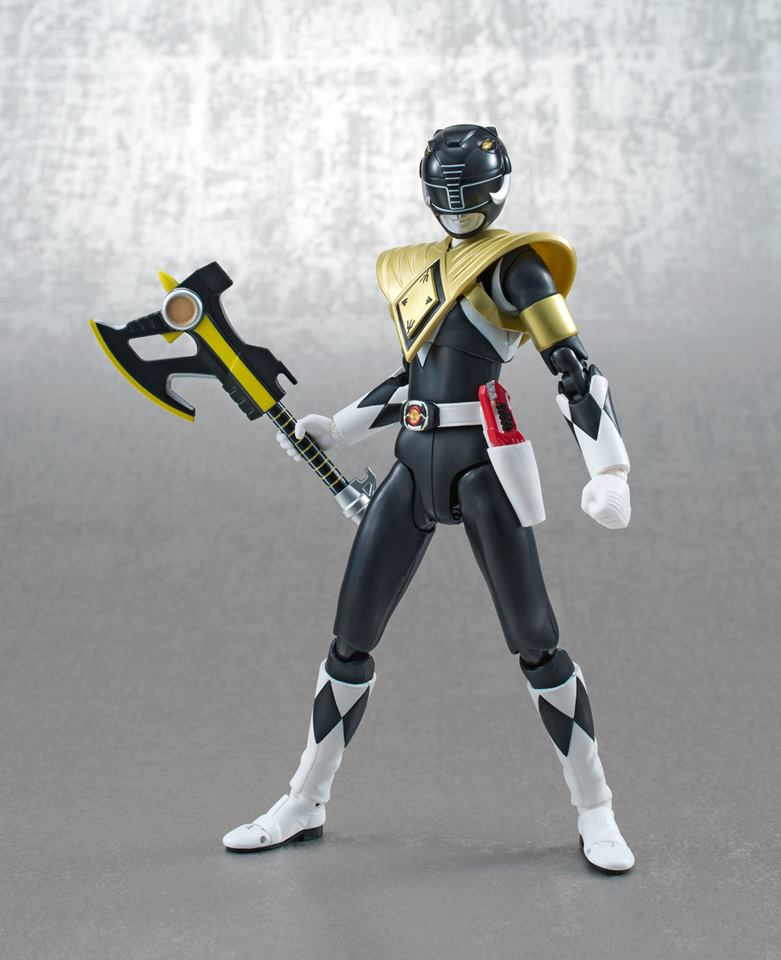 Tamashii Nations presents the S.H. Figuarts Armored Black Ranger SDCC Exclusive
