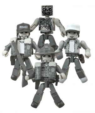 Diamond SDCC 2014 Exclusive - Walking Dead Minimates