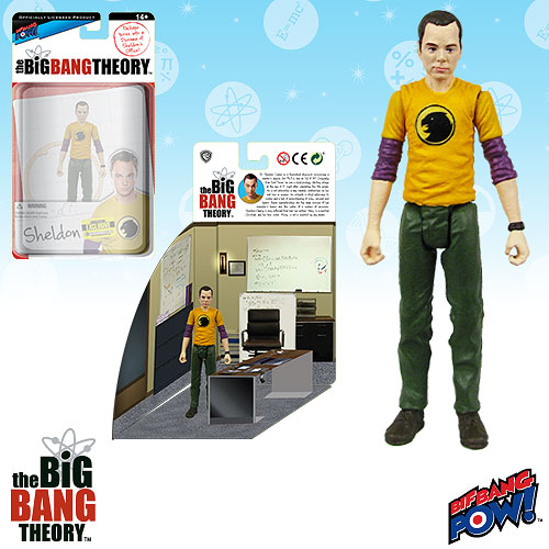 Big Bang Theory Sheldon Hawkman 3 3/4-Inch Figure SDCC Exclusive