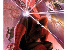 Alex Ross Spider-man Litho