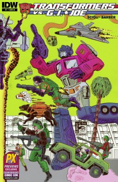 Diamond 04a - Transformers GI Joe front cover B IDW