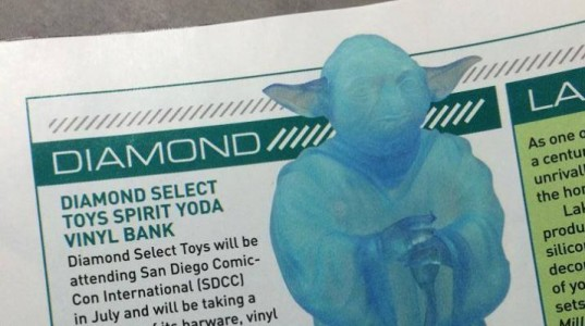 The  Spirit Yoda Vinyl Bank - Diamond Select SDCC 2014 Exclusive