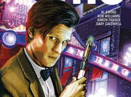 DOCTOR WHO: THE ELEVENTH DOCTOR #1 SDCC EDITION