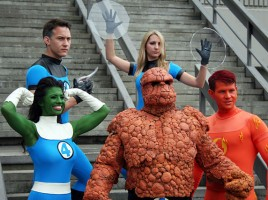 Fantastic Four Cosplay, from Wikipedia