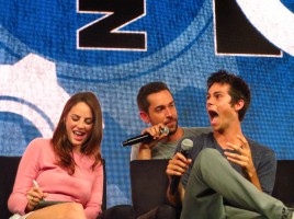 nerd hq zachary levi zac levi dylan o'brien the maze runner