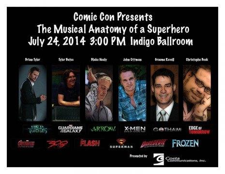 Musical Anatomy of a Superhero