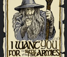 gandolf the one ring torn