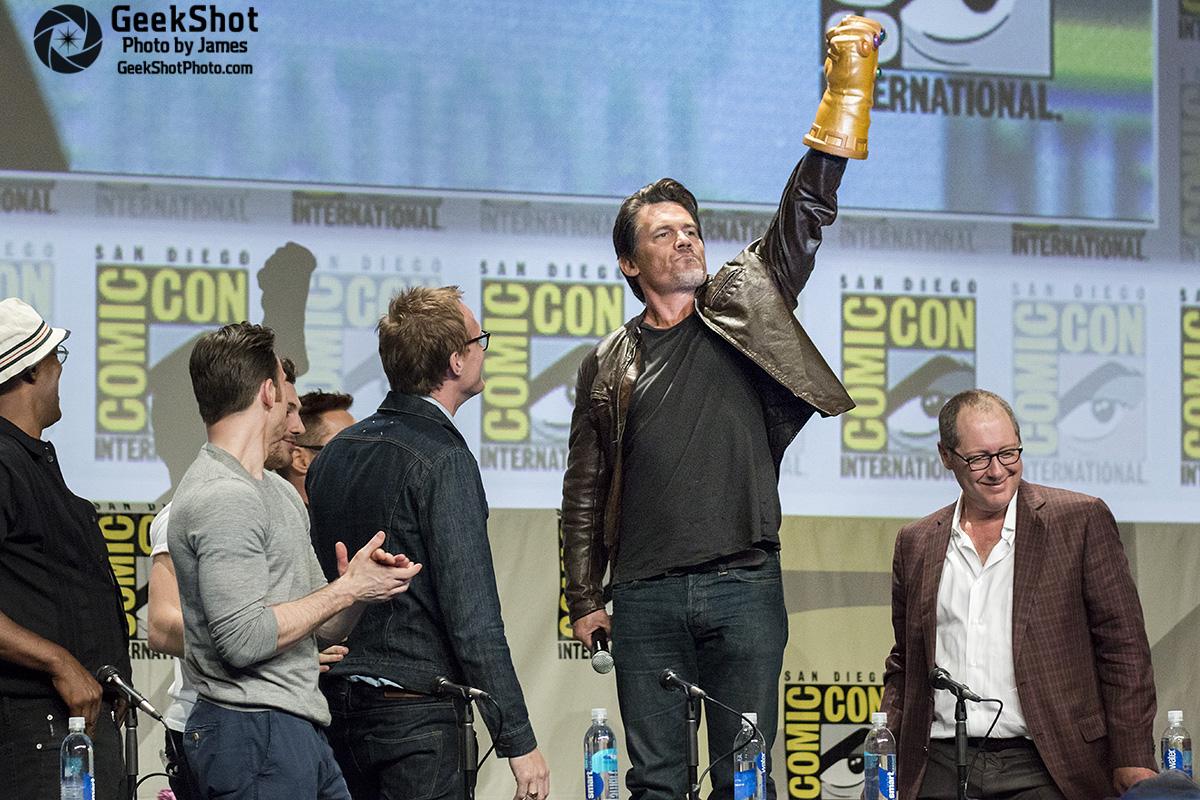 GeekShot Exclusive Series Week 21 - Avengers Age of Ultron Josh Brolin Thanos James Spader Paul Bettany Chris Evans Samuel L Jackson