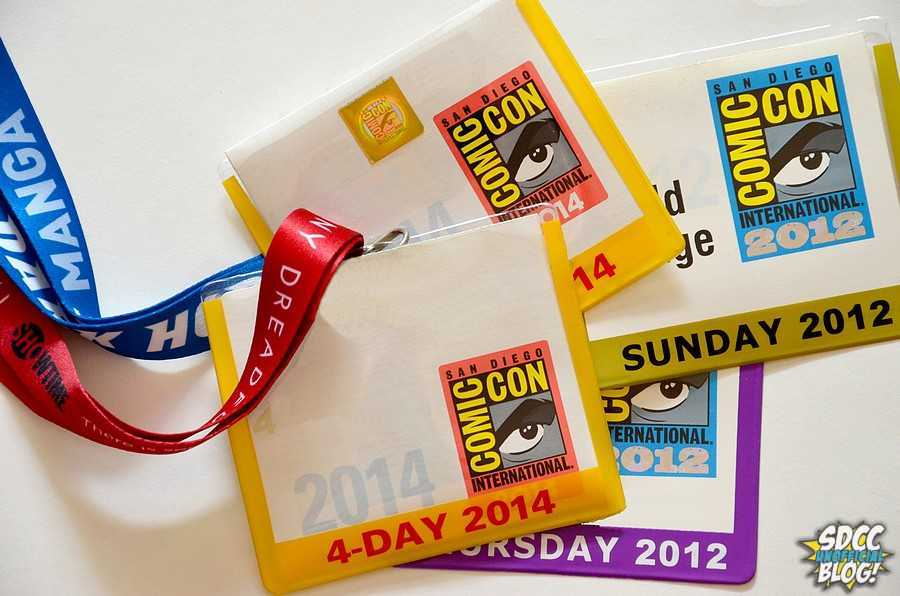SDCC Badges White Background