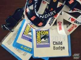 SDCC Badges - Child Badge