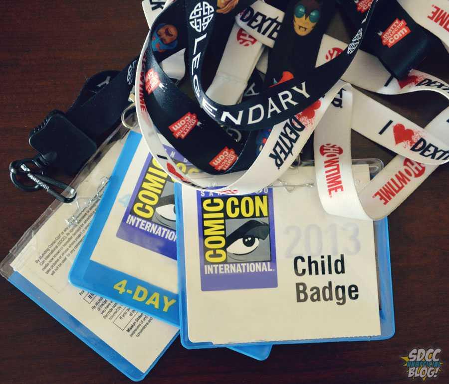 SDCC Badges - Child Badge