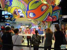 Nickelodeon Booth Power Rangers Cast Signing – Ciara Hanna, Andrew Gray, Christina Matterson, Cameron Jebo, Azim Rizk, John Mark Loudermilk