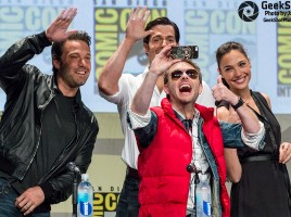 GeekShot Exclusive Series Week 33 – Ben Affleck Henry Cavill Gal Godot Chris Hardwick Batman Superman Wonder Woman