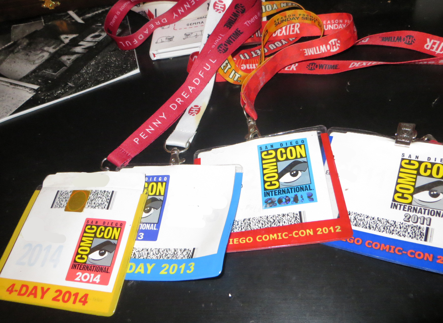 Badge Comic-Con 2015
