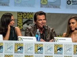 Sin City A Dame To Kill For 2014 Panel - Rosario Dawson Josh Brolin Jessica Alba